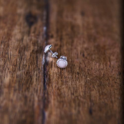 kolczyki sol silver