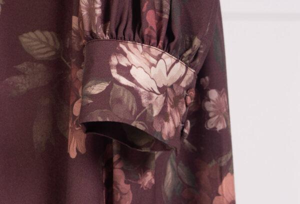 z kolekcji AUTUMN 2020, w oryginalny, kwiatowy wzór, idealna na jesień.