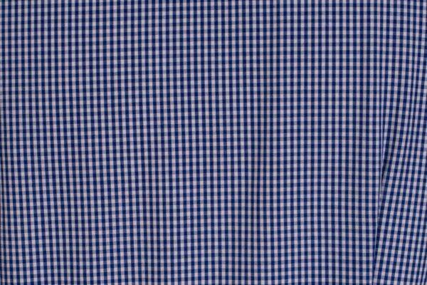 z kolekcji MID-SPRING 2021, szyta z bawełnyw granatową kratę