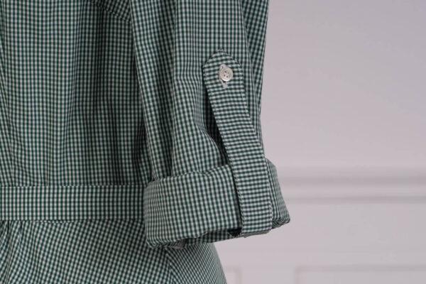 z kolekcji MID-SPRING 2021, z oblekanym paskiem w talii, o długości za kolano